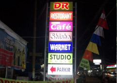 Jasa Neon Box Jakarta Pembuatan Pemasangan